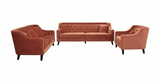 Dawson  Sofa Set Pink