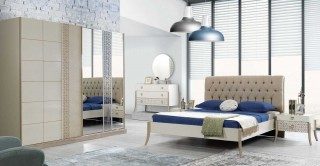 Duru Bedroom Set With Sliding Wardrobe