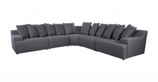 Natural Grey Corner Sofa