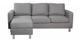 Turin Grey Corner Sofa