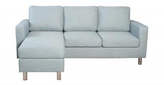 Turin Blue Corner Sofa