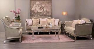 Cordoba Sofa Set 3+2+1+1 With Tables