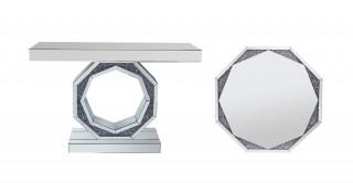 Baylor Console + Mirror Set