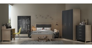 George Grey Kids Bedroom Set