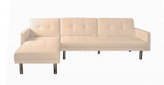 Clayton Beige Corner Sofa