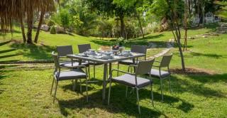 Dino Dining Set, Grey