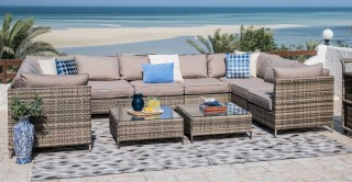 New Flora Sofa Set With Coffee Table