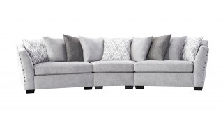 Vancouver 4 Seater Curve Sofa