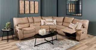 Sofia Corner Sofa With Recliner