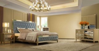 Celestine Bedroom Set With Dresser Mirror
