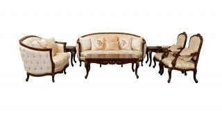 Winslow Sofa Set 3+2+1+1 With Tables