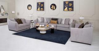 Vancouver Sofa Set Without Pouf