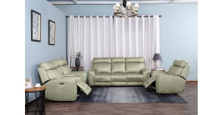 Warsow Electric Recliner Sofa Set