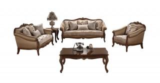 Del Rio Sofa Set 3+2+1+1 With Tables