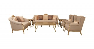 Marcus Sofa Set 3+2+1+1 With Tables