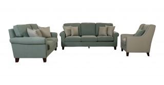 Roswell Green Sofa Set