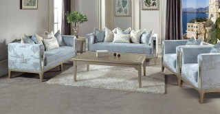 Prague Sofa Set 3+2+1+1 With Tables