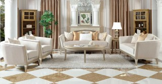 Madrid Sofa Set 3+2+1+1 With Tables