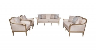 Vienna Sofa Set 3+2+1+1