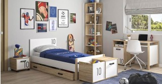 Kyllian 7-Piece Kids Bedroom Set