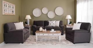 Dublin Sofa Set Grey