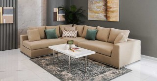 Cooper Corner Sofa, Beige