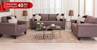 Queenstown Sofa Set Brown