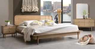 Manila Bedroom Set, 4 Pieces