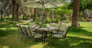 Polino Dining Set, 8 Chairs