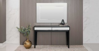 Gress/Henly Console With Mirror