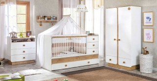 Natura Kids Nursery Bedroom Set, 3 Pieces