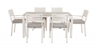 Bela Dining Sets White
