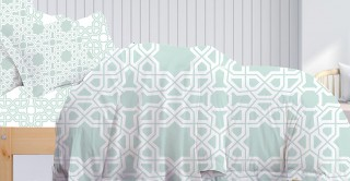 Bilbao 220x240 Printed Duvet Cover Set