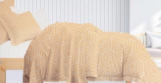 Huelva 240x260 Printed Comforter Set