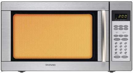 Daewoo Grill Microwave (KOG-185H) 50 Litres - Steel | Xcite Alghanim