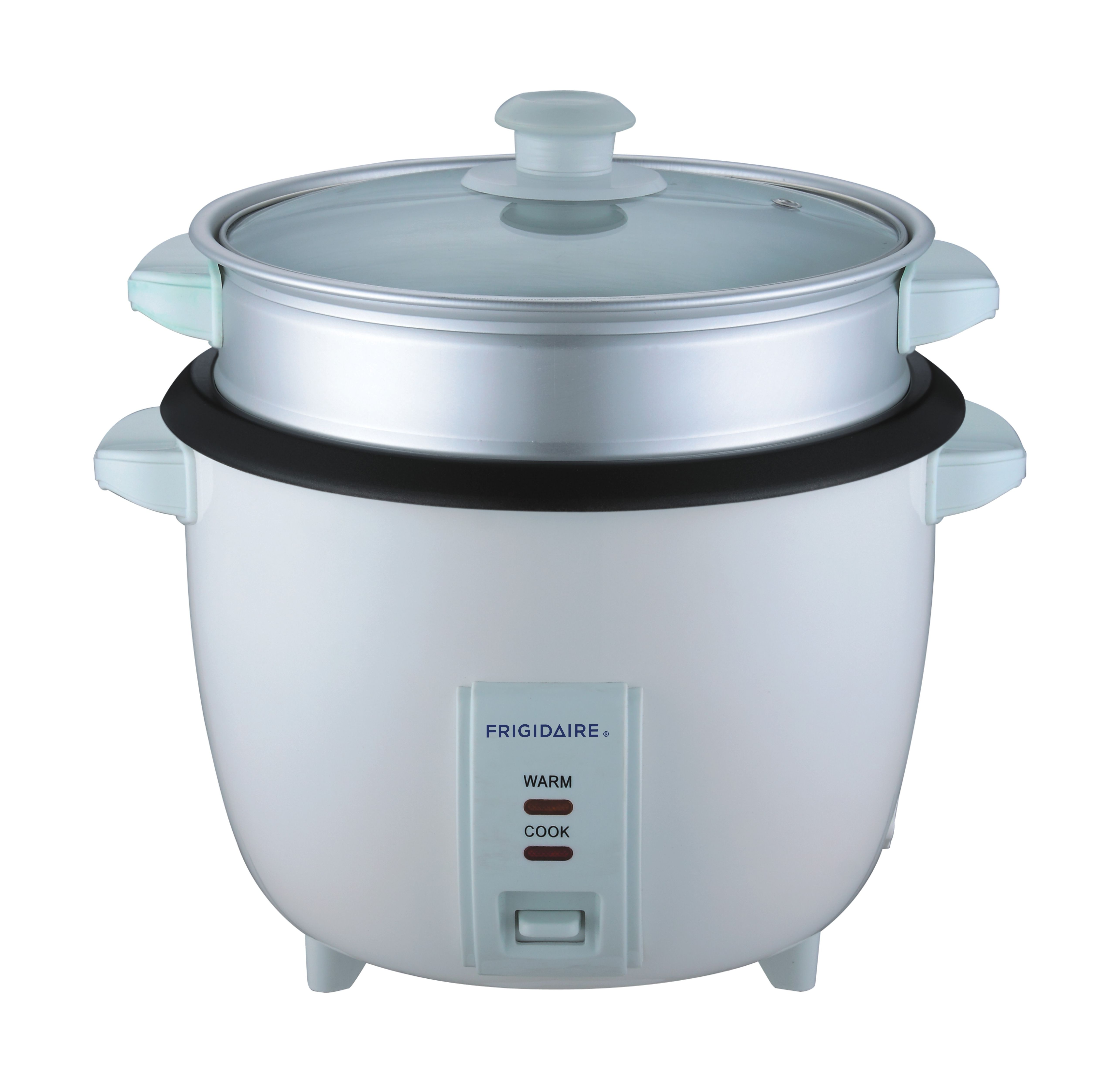 Frigidaire Rice Cooker With Steamer 1000W 2.8 Litres - White ...