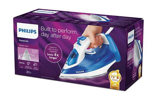 What Else is in The Philips Iron Box?