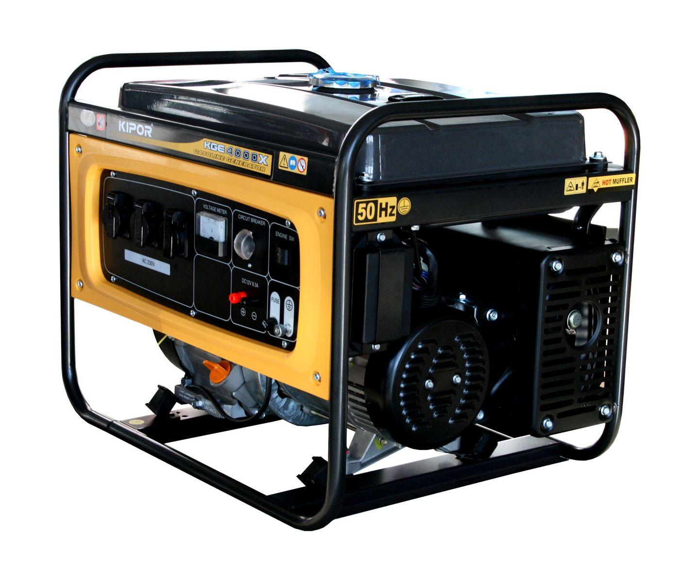 Kipor 3.0 3.5 (kVA) 30L Portable Generator (KGE4000X