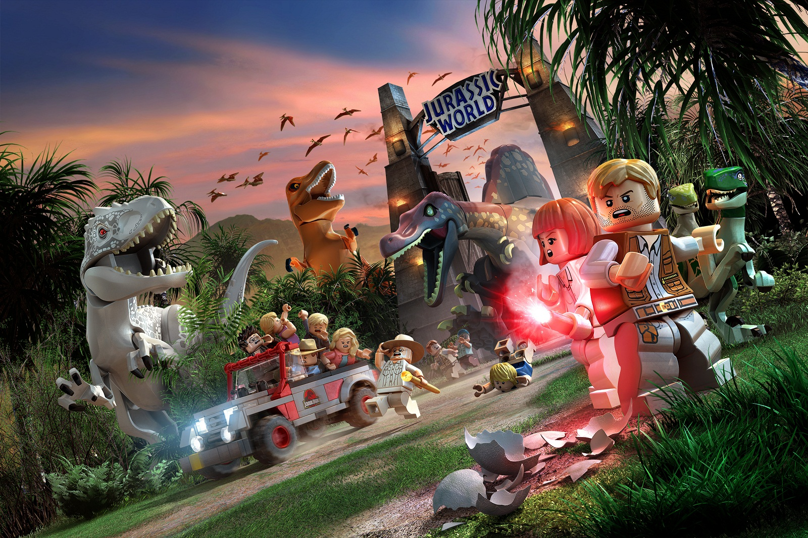 Lego jurassic world ps4 game xcite alghanim electronics best lego jurassic world ps4 game gumiabroncs Images