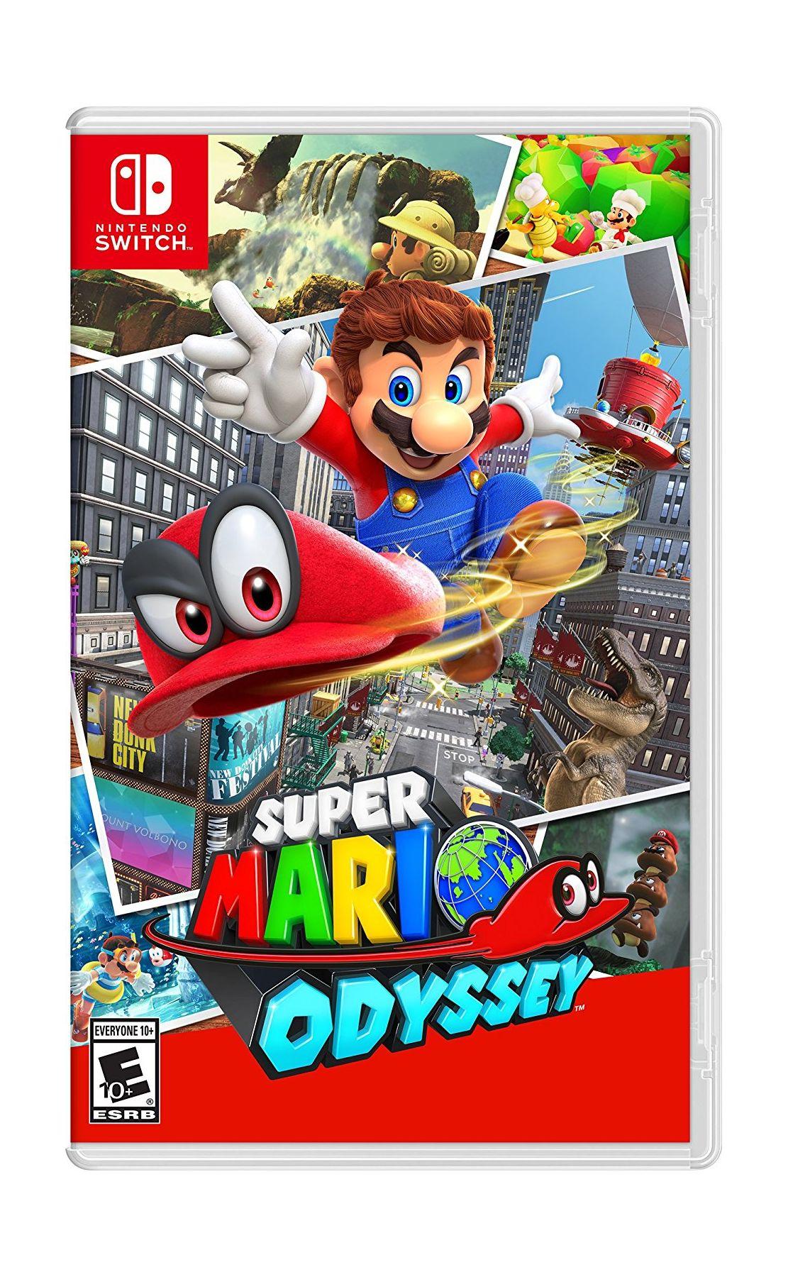 Nintendo Goomba Toys N Joys : Nintendo switch console super mario odyssey game xcite