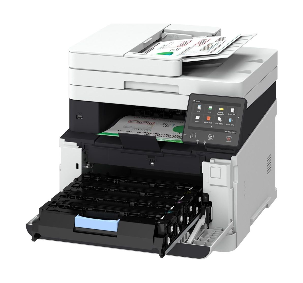 Canon I Sensys Mf635cx Color Multifunction A4 Laser