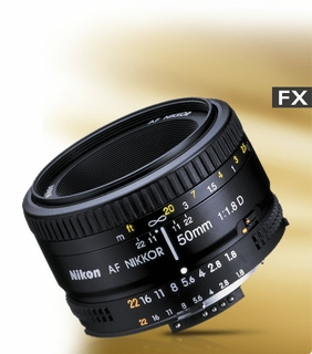 Affordable, fast f/1.8 prime lens with manual aperture control.