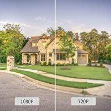 1080p/129° Ultra Wide Angle