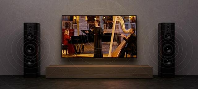 TV center speaker mode: The centerpiece of breathtaking sound
