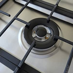 CAST IRON PAN SUPPORTS