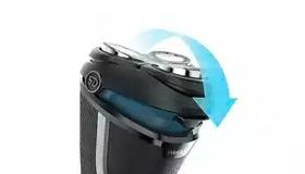 5D Pivot & Flex Heads follow curves for a comfortable shave