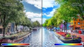 تقنية اللون الكريستالي الديناميكي، الواقعية في أبهى صورها