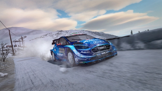 EXPERIENCE THE WRC FROM THE DRIVER'S SEAT
