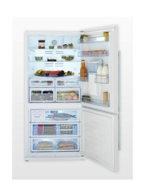 Sleek Bottom Freezer refrigerator