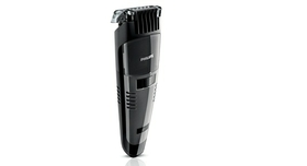 Vacuum system captures cut hairs for mess-free trimming